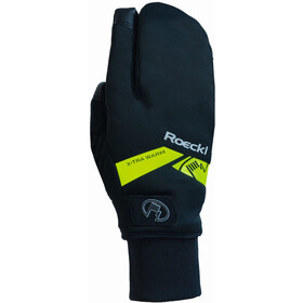 Roeckl Villach Trigger Gloves black/yellow